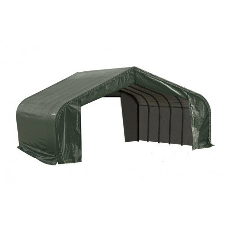 Shelter Logic 22x24x13 Peak Style Shelter Kit - Green (82144)
