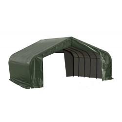 Shelter Logic 22x24x11 Peak Style Shelter Kit - Green (78641)
