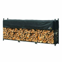 Shelter Logic 12ft Ultra Duty Firewood Rack w/ Cover (90476)