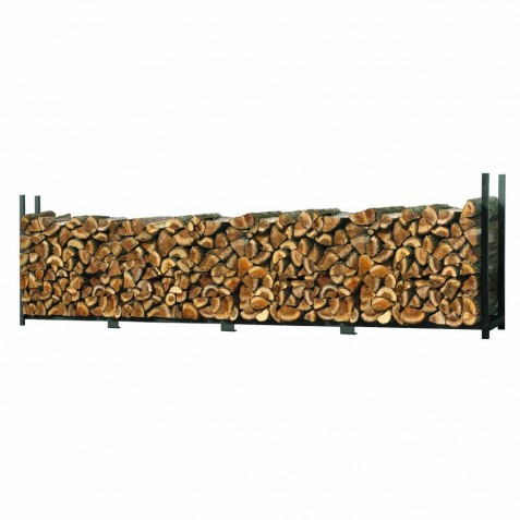 Shelter Logic 4ft Ultra Duty Firewood Rack w/ Cover (90474)