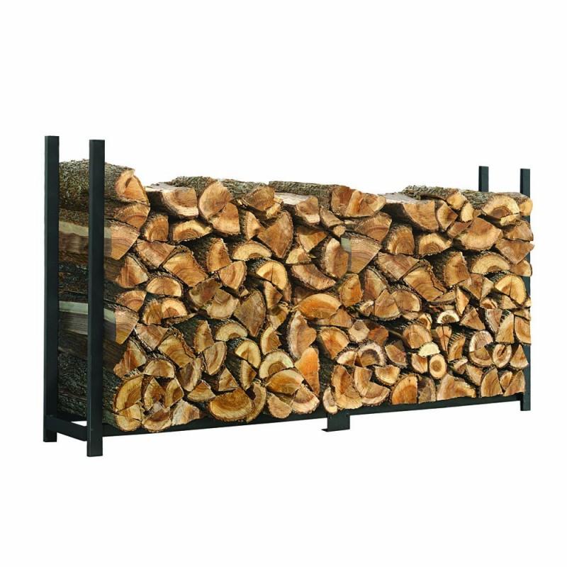 Shelter Logic 8ft Ultra Duty Firewood Rack W Cover 90472