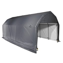 Shelter Logic 12x20x9 Barn Shelter Kit - Grey (97053)