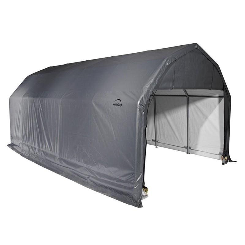 Shelter Logic 12x20x9 Barn Shelter Kit - Grey (97053)