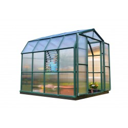 Rion 8x8 Prestige 2 Greenhouse Kit - Dark Green (HG7308)