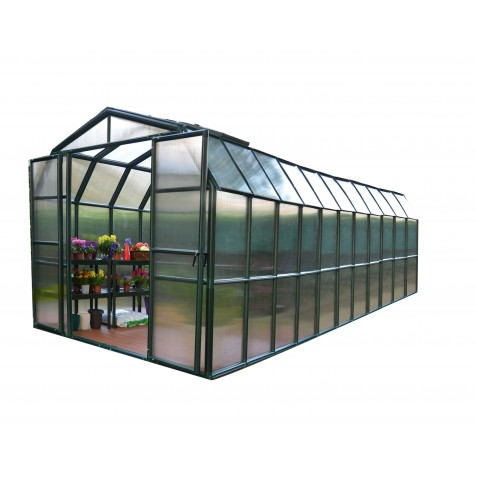 Rion 8x20 Grand Gardener 2 Greenhouse Kit - Twin Wall (HG7220)