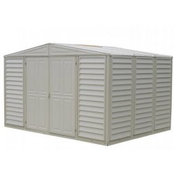 DuraMax 10' x 8' Woodbridge Vinyl Storage Shed (00281)