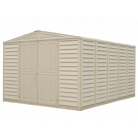 DuraMax 10.5'x13' Woodbridge Vinyl Shed Kit (00581)