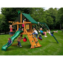 Gorilla High Point Cedar Wood Swing Set Kit - Amber  (01-0040)