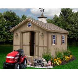 Best Barns Cambridge 10x20 Wood Storage Shed Kit (cambridge1020)