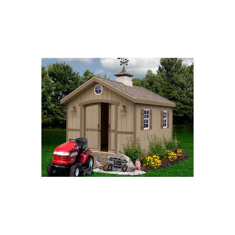 Best Barns Cambridge 10x20 Wood Storage Shed Kit (cambridge1020)