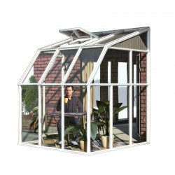 Rion 6x6 Sun Room 2 - Greenhouse Kit - White (HG7506)
