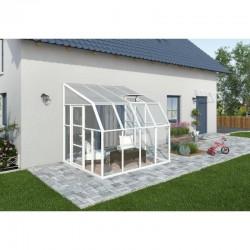 Rion 8x8 Sun Room 2 Greenhouse Kit - White (HG7608)