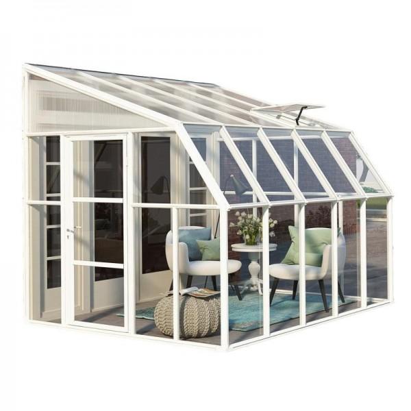 Rion 8x10 Sun Room 2 Greenhouse Kit White Hg7610