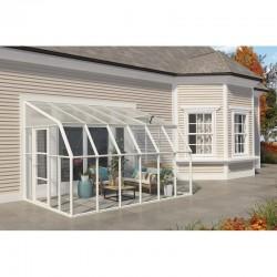 Rion  8x12 Sun Room 2 Greenhouse Kit - White (HG7612)