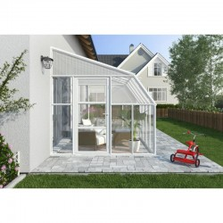 Rion  8x16 Sun Room 2 Greenhouse Kit - White (HG7616)
