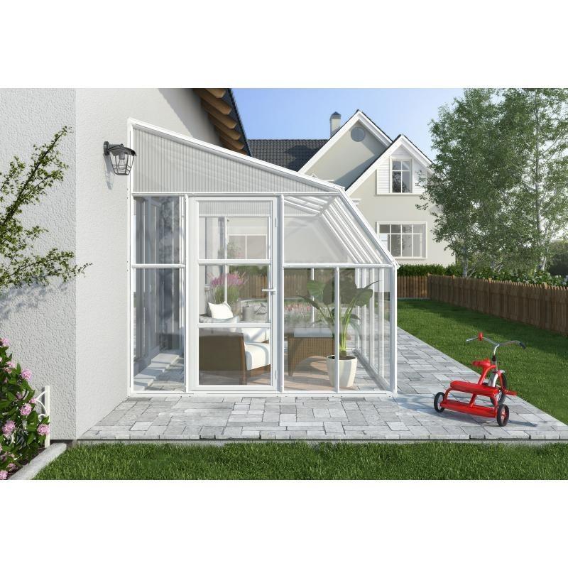 Rion  8x16 Sun Room 2 Greenhouse Kit - White (HG7616)