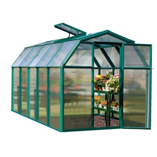 Rion 6x10 Ecogrow 2 Twin Wall Greenhouse Kit Hg7010