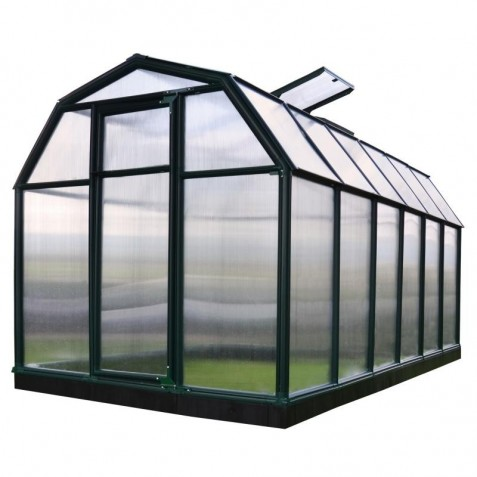 Rion 6x12 Ecogrow 2 Twin Wall Greenhouse Kit Hg7012