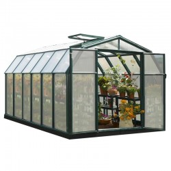 Rion 8x12 Hobby Gardener 2 Twin Wall Greenhouse Kit (HG7112)