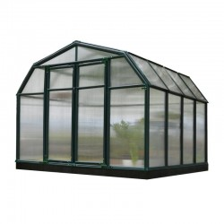 Rion 8x8 Hobby Gardener 2 Twin Wall Greenhouse Kit (HG7108)