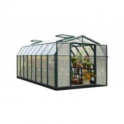 Rion 8x16 Hobby Gardener 2 Twin Wall Greenhouse Kit (HG7116)