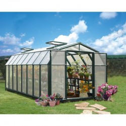 Rion 8x20 Hobby Gardener 2 Twin Wall Greenhouse Kit (HG7120)