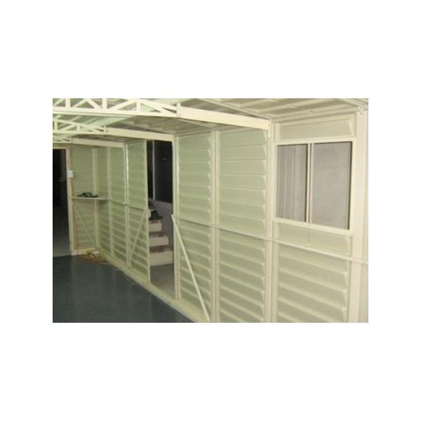 Duramax 10 5 39 x30 5 39 vinyl storage garage kit 01616 for Garage en kit pvc