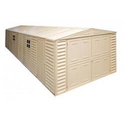 DuraMax 10x31 Vinyl Storage Garage w/ Foundation Kit (01616)