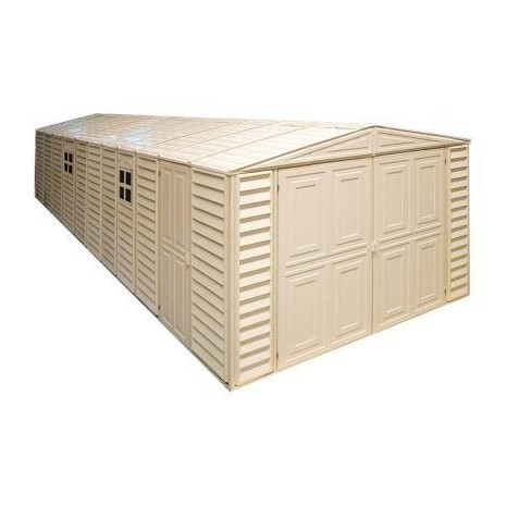 DuraMax 10x31 Vinyl Storage Garage w/ Foundation Kit (01616)