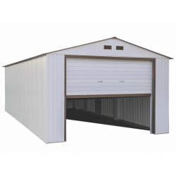 DuraMax 12'x20' Imperial Steel Storage Garage Kit - White (50931)