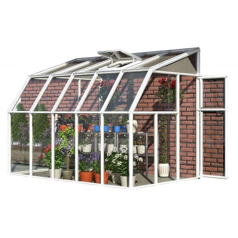 Rion 6x10 Sun Room 2 - Greenhouse Kit - White (HG7510)