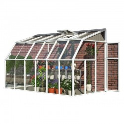 Rion 6x14 Sun Room 2 -Greenhouse Kit - White (HG7514)