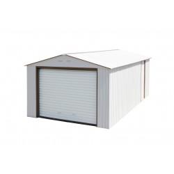 DuraMax 12x26 Imperial Steel Storage Garage Kit - White (55131)