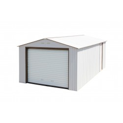 DuraMax 12'x26' Imperial Steel Storage Garage Kit - White (55131)