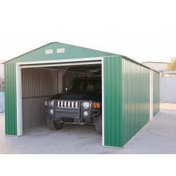 DuraMax 12'x20' Imperial Steel Storage Garage Kit - Green (50961)