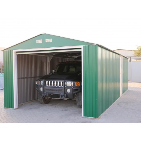 DuraMax 12'x20' Imperial Steel Storage Garage Kit - Green (50961)