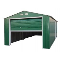 DuraMax 12x26 Imperial Steel Storage Garage Kit - Green (55161)