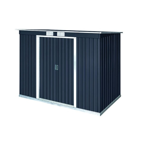 Duramax 8x4 Pent Roof Metal Shed Kit W Vents 50651