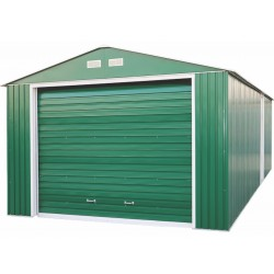 DuraMax 12x32 Imperial Steel Storage Garage Kit - Green (55261)
