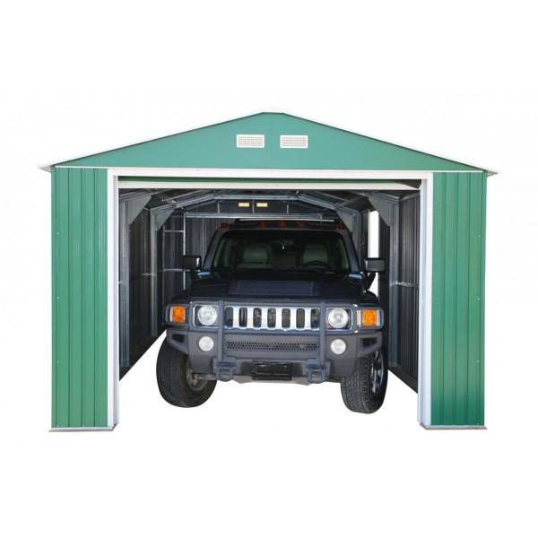 Duramax 12 X32 Imperial Steel Storage Garage Kit Green