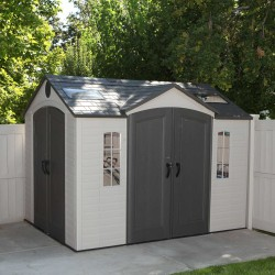 Lifetime 10' x 8' Garden Shed Kit - Double Doors (60001)