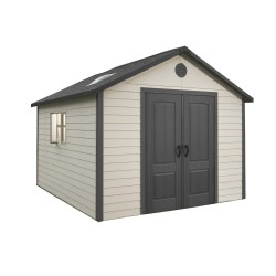 Lifetime 11x13.5 Outdoor Storage Shed Kit w/ Floor (6415)