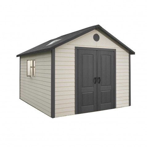 Lifetime 11' x 13.5' Outdoor Storage Shed Kit (6415)
