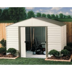 Arrow Vinyl Milford 10x8 Storage Shed Kit (VM108)