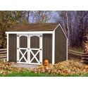 Best Barns 10' x 8' Aspen Wood Shed Kit