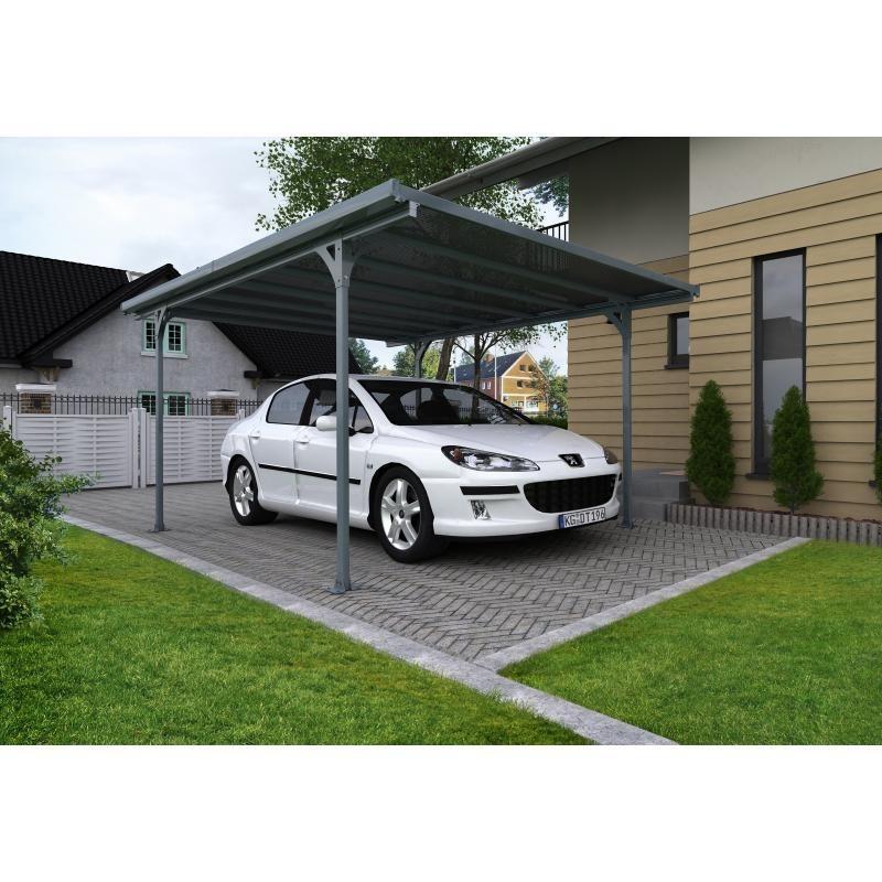 Palram 16x10 Verona 5000 Carport Kit - Gray (HG9135)
