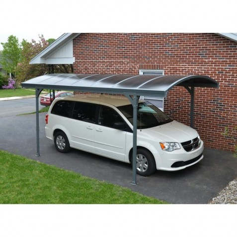 Palram Vitoria Carport Kit - Gray / Bronze (HG9130)