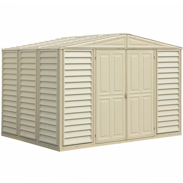 Duramax 10 5 X 8 Woodbridge Vinyl Shed W Foundation Kit