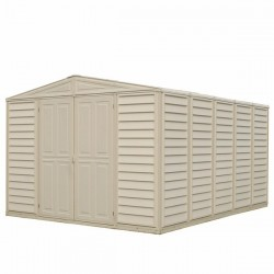 DuraMax 10.5'x13' Woodbridge Vinyl Shed w/ Foundation Kit (00584)