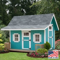 EZ-Fit Classic A-Frame 8' x 10' Playhouse Kit